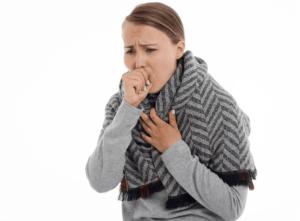 기침-감기 독감 공통점